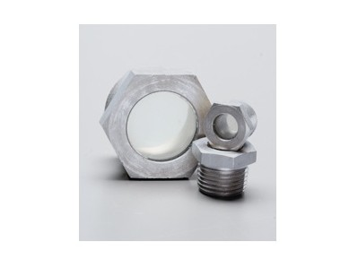 Stainless Steel Threaded Clear Sight Glass