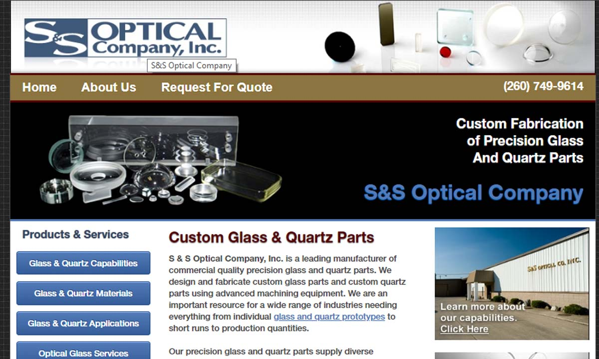 S & S Optical Company, Inc.