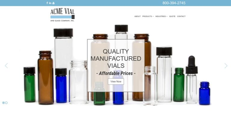 Acme Vial & Glass Company, Inc.