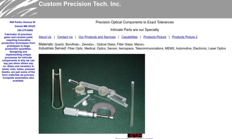 Custom Precision Tech. Inc.