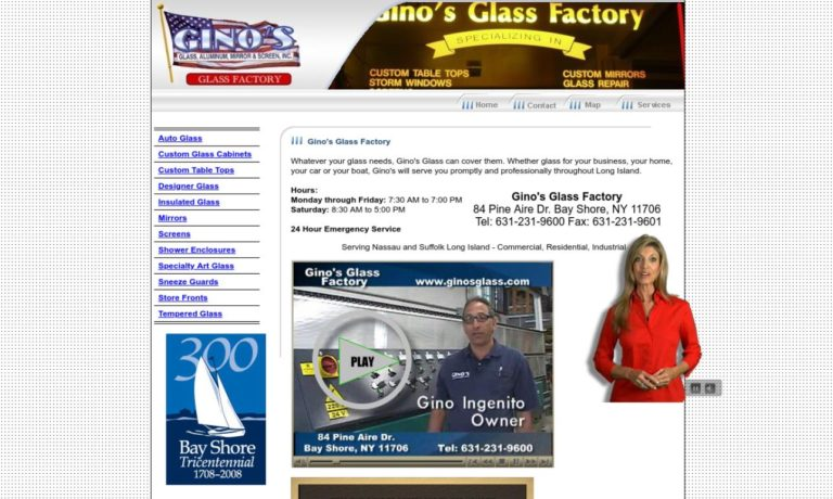 Gino's Glass Factory