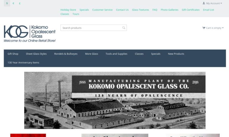 Kokomo Opalescent Glass Co., Inc.