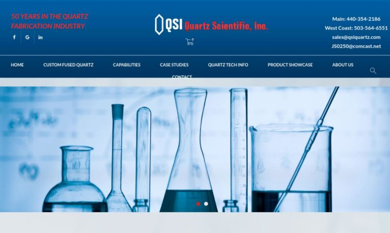 Quartz Scientific, Inc.