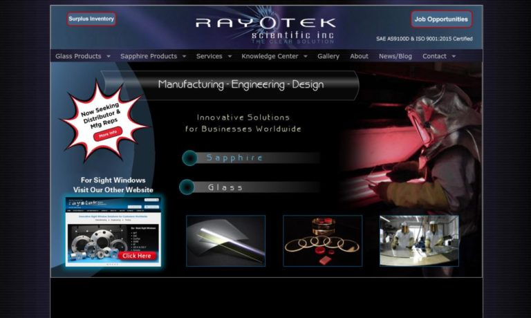 Rayotek Scientific Inc.
