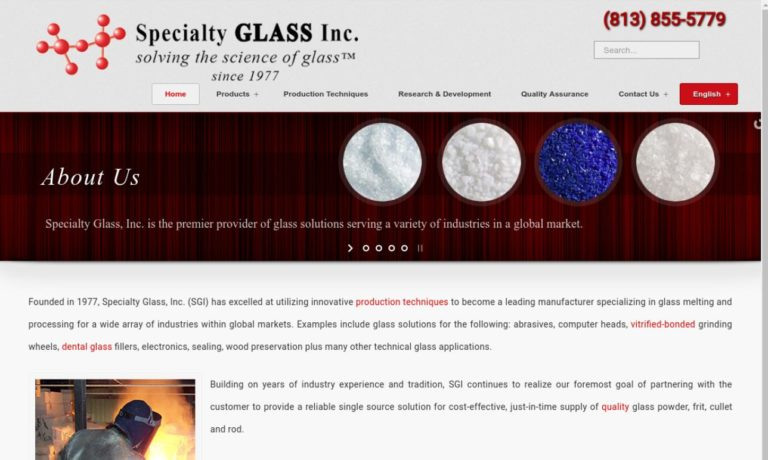 Specialty Glass, Inc.
