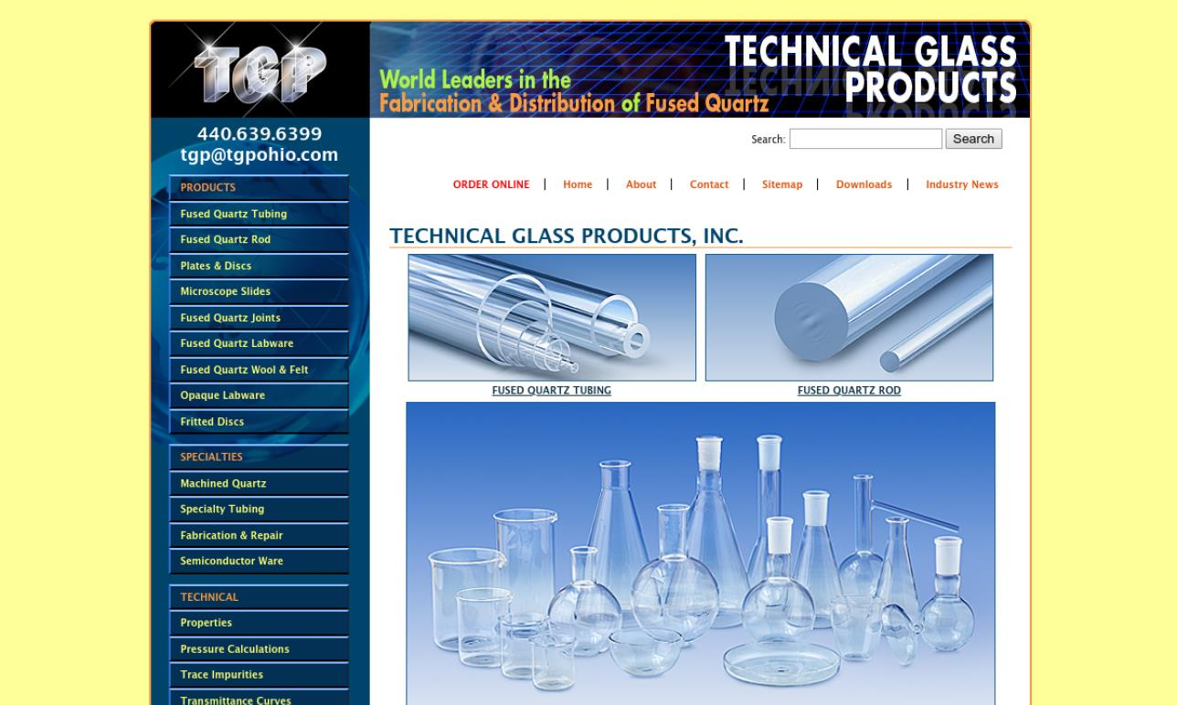 Technical Glass Products, Inc.