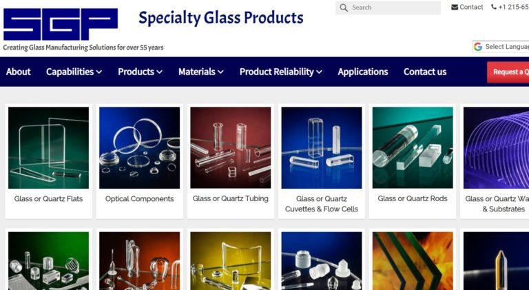 Specialty Glass Products, Inc.